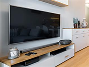 Smart TV and sound bars