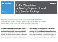 In-Ear Wearable Document Image