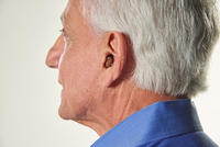 Older Man with Hearing Aids